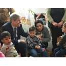 Prime Minister Dacian Cioloș visited the kindergarten from Podu Cristinii, Potlogi commune,(...)