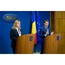 Declarații de presă susținute de Anca Dragu, ministrul Finanțelor Publice, Manuel Costescu,(...)