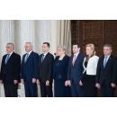 Participarea premierului Sorin Grindeanu la ceremonia de depunere a jurământului de învestitură a noilor membri ai Guvernului