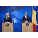 Întâlnirea premierului Sorin Grindeanu cu Corina Crețu, comisar european pentru Politică(...)