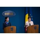 Declarații de presă susținute de ministrul delegat pentru Afaceri Europene, Ana Birchall,  ministrul Sănătăţii, Florian Bodog și purtătorul de cuvânt al guvernului, Alina Petrescu, la finalul ședinței de guvern