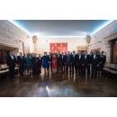Premierului Sorin Grindeanu a participat la dineul oficial organizat cu ocazia împlinirii a 20 de ani de la prima vizită externă a Familiei Regale reprezentând interesele României