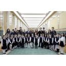 Vizită la Palatul Victoria a unui grup de copii