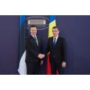 Întâlnirea premierului Sorin Grindeanu cu premierul Estoniei, Jüri Ratas