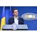 Point de presse du Premier ministre Sorin Grindeanu au Palais Victoria