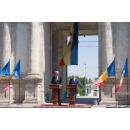 Conférence conjointe de presse des premiers ministres de la Roumanie, M. Mihai Tudose, et de la République de Moldavie, M. Pavel Filip