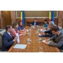 Entrevue du Premier ministre  Mihai Tudose avec  les représentants de l`ambassade du Royaume(...)