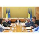 Entrevue du Premier ministre  Mihai Tudose avec  les représentants de la compagnie Bell Helicopter