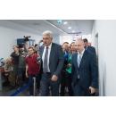 Visite du Premier ministre  Mihai Tudose au nouveau siège du Service des passeports situé Plaza(...)
