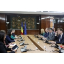 Vice Prime Minister Ciolacu met with the European Commissioner for Digital Economy and Society,(...)