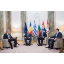 PM Mihai Tudose participated in the Romania - Bulgaria - Serbia - Greece quadrilateral meeting