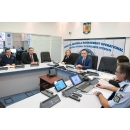 Interim Prime Minister Mihai –Viorel Fifor attends the meeting of the National Integrated(...)
