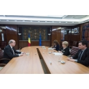 PM Viorica Dancila meets with UK Ambassador H.E. Mr. Paul Brummell