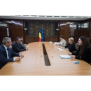 Prime Minister Viorica Dancila receives the Ambassador Extraordinary and Plenipotentiary of the(...)