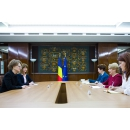 Prime Minister Viorica Dancila receives at Victoria Palace, H.E. Ms. Isabel Rauscher, Ambassador of the Republic of Austria to Romania