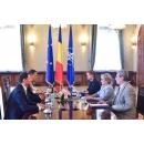 Întrevederea premierului Viorica Dăncilă cu președintele României, Klaus Iohannis