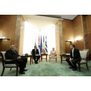 The  quadrilateral high-level meeting of Romania, Bulgaria, Greece and Serbia