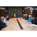 Prime Minister Viorica Dancila meets with the Secretary General of the International Civil Aviation(...)