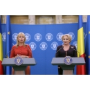 Prime Minister Viorica Dancila meets with the European Commissioner for Internal Market, Industry,(...)