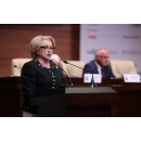 "Prime Minister Viorica Dancila attends the National Conference of Farmers on ""Agriculture-(...)"