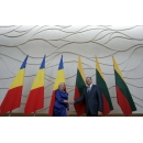 Working visit to Lithuania- PM Viorica Dancila's meeting with the Prime Minister of the Republic of Lithuania Saulius Skvernelis, in the plenum of the two delegations