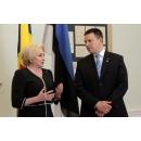 Déclaration du Premier ministre Viorica Dăncilă, après sa rencontre avec son homologue estonien,  M. Juri Ratas