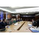 Prime Minister Viorica Dancila and Vice Prime Minister Viorel Stefan meet with Maroš Šefčovič,(...)