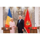 Joint press statements by Prime Minister Viorica Dancila and her Montenegrin counterpart Duško(...)