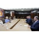 "Prime Minister Viorica Dăncilă's meeting  with the representatives of the Romanian Investors Association"" (AIR) in the Republic of Moldova"
