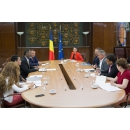 Preparations for the Regional Ministerial Conference on Nuclear Energy to be held in Bucharest, in October: Vice Prime Minister Viorel Stefan's meeting with the Director -General of the OECD Nuclear Energy Agency (NEA) William Magwood