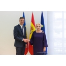 Entrevue du Premier ministre Viorica Dăncilă avec le Président du Gouvernement du Royaume(...)