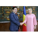 Prime Minister Viorica Dancila met with the Minister of Foreign Affairs and International Cooperation of the Kingdom of Morocco, Nasser Bourita