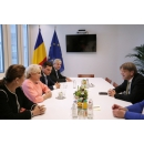Prime Minister Viorica Dancila meets with Guy Verhofstadt, the Chairman of the ALDE Group (Alliance(...)