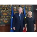 Prime Minister Viorica Dăncilă meets with the EU's chief Brexit negotiator Michel Barnier