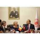 PM Viorica Dancila meets with the Speaker of the Grand National Assembly of Turkey, Mr. Levent Gok