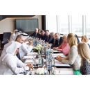 PM Viorica Dancila meets with Sultan Bin Sulayem, Group Chairman and CEO of DP World and Chairman(...)