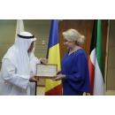 Întrevederea prim-ministrului României, Viorica Dăncilă, cu președintele Camerei de Comerț și Industrie din Kuweit, dr. Ali Mohammed Thunayan Al-Ghanim