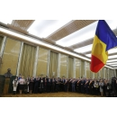 "Prime Minister Viorica Dăncilă attends the donation ceremony of the work ""Avram Iancu - The Gift of the Moti for Romania"""