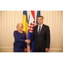 Prime Minister Viorica Dăncilă's official visit to the Republic of Croatia