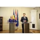 Joint press statements by Prime Minister Viorica Dăncilă and the Croatian counterpart Andrej Plenković