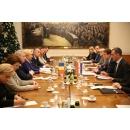 Talks with the Speaker of the Croatian Parliament Gordan Jandroković