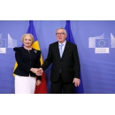 Prime Minister Viorica Dancila's bilateral meeting with the President of the European Commission Jean Claude Juncker