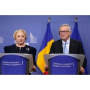 Joint press conference by Prime Minister Viorica Dancila and President of the European Commission Jean Claude Juncker