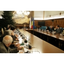 Prime Minister Viorica Dăncilă attends the meeting of the National Committee for Preparing the Changeover to Euro