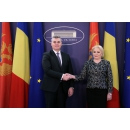 Prime Minister Viorica Dăncilă meets with the Speaker of the Parliament of Montenegro Ivan Brajović