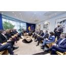Întrevedere bilaterală a delegației guvernamentale conduse de premierul Viorica Dăncilă cu(...)