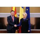 Întrevederea premierului Viorica Dăncilă cu vicepremierul macedonean, Bujar Osmani