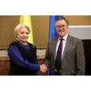 Întrevederea prim-ministrului României, Viorica Dăncilă, cu ambasadorul Regatului Unit al Marii(...)