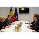 Prime Minister Viorica Dancila meets with the Executive Director of the American Jewish Committee (AJC)