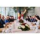 Prânz de lucru oferit de prim-ministrul Viorica Dăncilă în onoarea prim-ministrului Georgiei,(...)